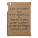 Sobreviví el terremoto y el huracán Irene colorida