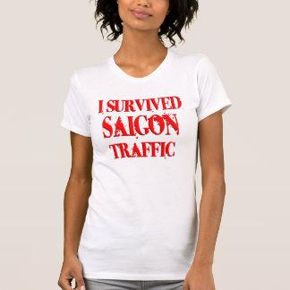 Sobreviví el tráfico de Saigon Camiseta