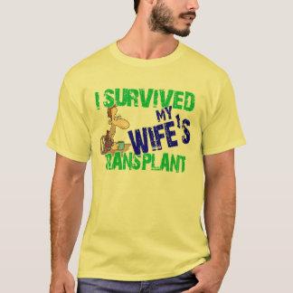 Sobreviví el trasplante de mi esposa playera