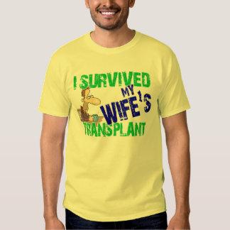 Sobreviví el trasplante de mi esposa poleras