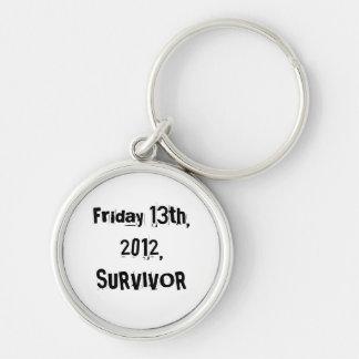 Sobreviví el viernes 13 2012 llaveros