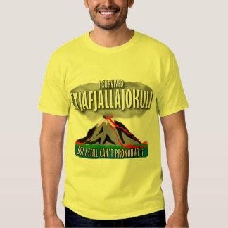 Sobreviví el volcán de Islandia Camisas