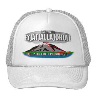 Sobreviví el volcán de Islandia Gorras De Camionero