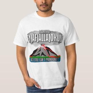 Sobreviví el volcán de Islandia Remera