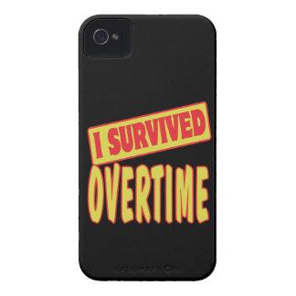 SOBREVIVÍ EN HORAS EXTRAS iPhone 4 CÁRCASAS