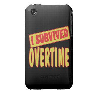 SOBREVIVÍ EN HORAS EXTRAS Case-Mate iPhone 3 COBERTURA