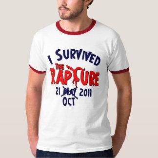 Sobreviví éxtasis el 21 de octubre playera