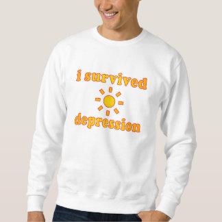 Sobreviví felicidad de la salud mental de la sudadera