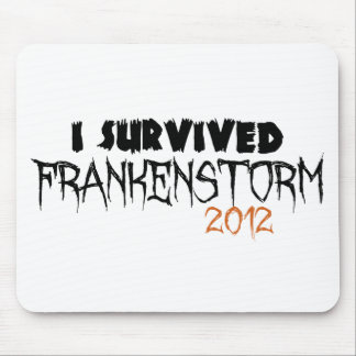 Sobreviví Frankenstorm 2012 Tapetes De Raton