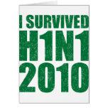 SOBREVIVÍ H1N1 2010 en el verde apenado Felicitaciones