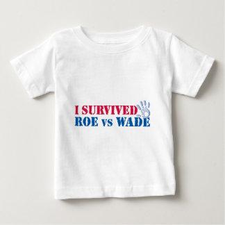 Sobreviví huevas contra el bamboleo (la mano) camiseta