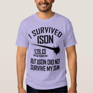 Sobreviví ISON Remeras
