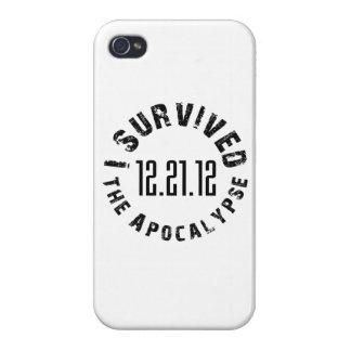 Sobreviví la Apocalipsis 12 21 12 iPhone 4/4S Carcasas