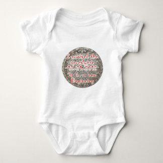Sobreviví la apocalipsis 12-21-2012 mameluco de bebé