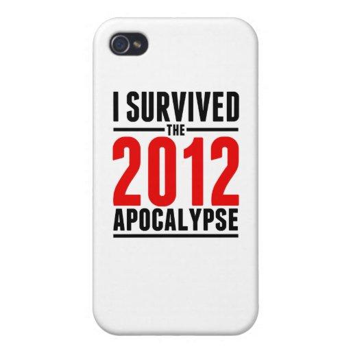 ¡Sobreviví la apocalipsis 2012! iPhone 4 Cobertura