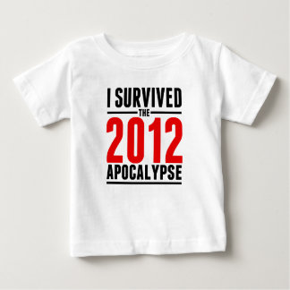 ¡Sobreviví la apocalipsis 2012! Polera