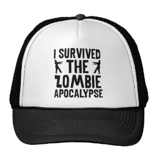 Sobreviví la apocalipsis del zombi gorros