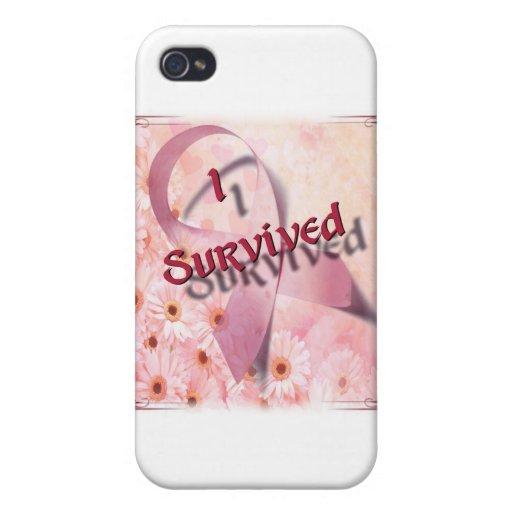 Sobreviví la caja de la mota iPhone 4 cobertura