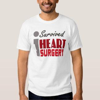Sobreviví la camisa de la cirugía de corazón