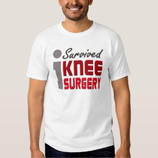 Sobreviví la camisa de la cirugía de la rodilla
