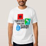 Sobreviví la camiseta 3 de la muestra de Sandy del Polera