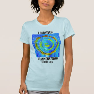 Sobreviví la camiseta de Frankenstorm