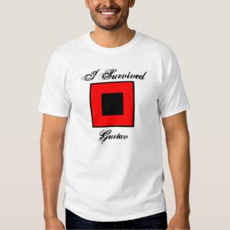 Sobreviví la camiseta de Gustavo - frente y parte Remera