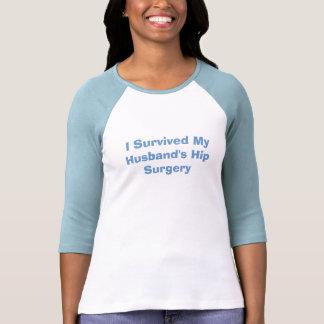 Sobreviví la camiseta de la cirugía de la cadera