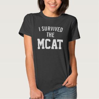 Sobreviví la camiseta de MCAT Polera