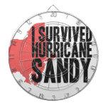 Sobreviví la camiseta de Sandy del huracán Tablero De Dardos