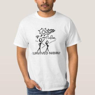 SOBREVIVÍ la camiseta del valor de NIBIRU