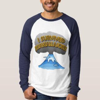 Sobreviví la camiseta del volcán de