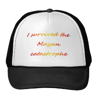Sobreviví la catástrofe maya 2012 gorra