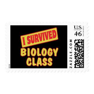 SOBREVIVÍ LA CLASE DE BIOLOGÍA