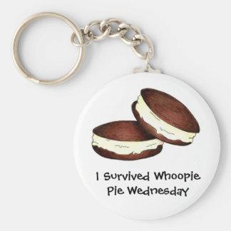 Sobreviví la empanada miércoles de Whoopie Llavero