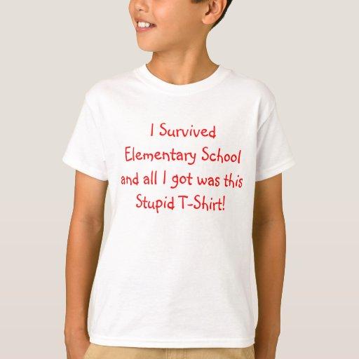 ¡Sobreviví la escuela primaria! Playera