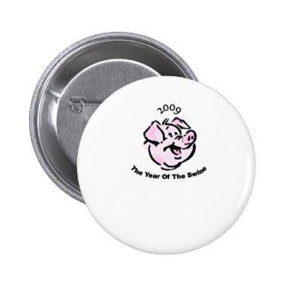 Sobreviví la gripe 2009 de los cerdos pins