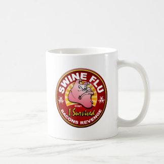 Sobreviví la gripe de los cerdos - H1N1 Taza