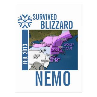 Sobreviví la postal 2013 de Nemo de la ventisca 1