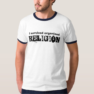 Sobreviví la RELIGIÓN organizada Playeras