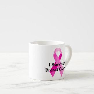 Sobreviví la taza de café del cáncer de pecho