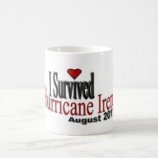 Sobreviví la taza de Irene del huracán