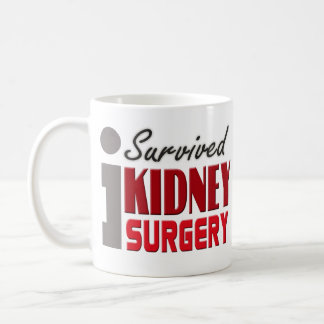 Sobreviví la taza de la cirugía del riñón