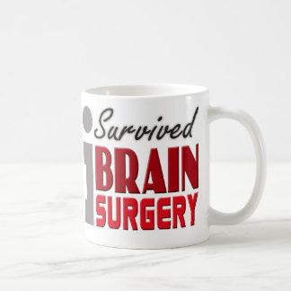 Sobreviví la taza de la neurocirugía