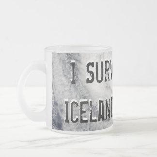 Sobreviví la taza del volcán de Islandia