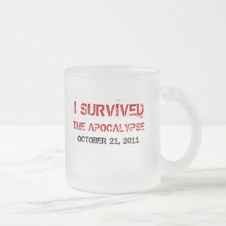 Sobreviví la taza helada apocalipsis