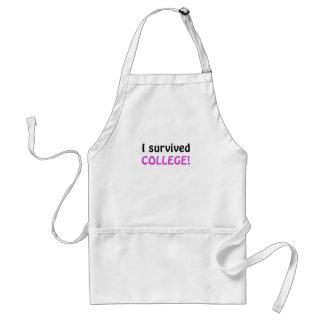 Sobreviví la universidad delantales