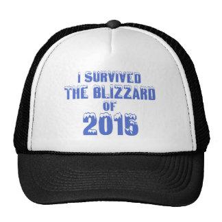 Sobreviví la ventisca de 2015 gorras