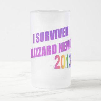 Sobreviví la ventisca de la taza helada 2013