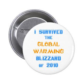 Sobreviví la ventisca del calentamiento del planet pin